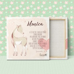 "Customizable Canvas for Babies/Children | Model ""Monica"""