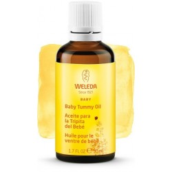 Baby belly oil, Prevent Baby Colic - Weleda (50 ml)
