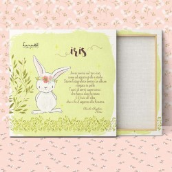 "Customizable Canvas for Babies/Children | Model ""Iris"""